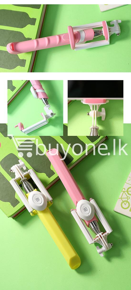 original remax p3 bluetooth selfie stick mobile phone accessories special best offer buy one lk sri lanka 56423 - Original REMAX P3 Bluetooth Selfie Stick