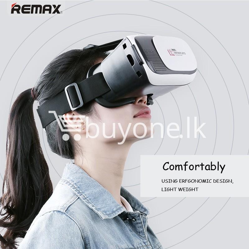 original remax vr box vr rt v01 virtual reality 3d glasses mobile phone accessories special best offer buy one lk sri lanka 11097 Original Remax VR BOX  VR RT V01 Virtual Reality 3D Glasses