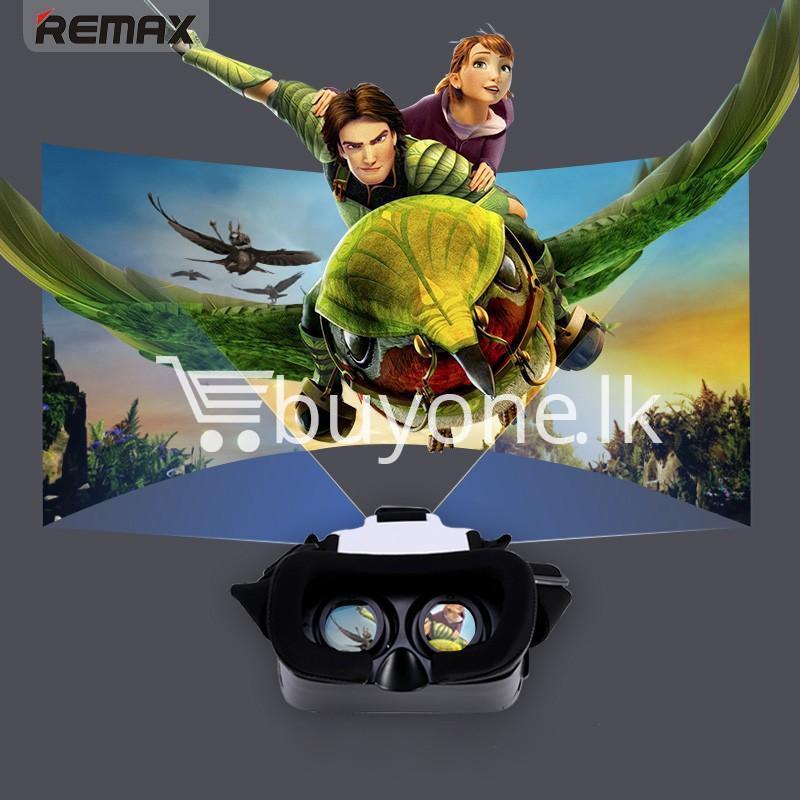 original remax vr box vr rt v01 virtual reality 3d glasses mobile phone accessories special best offer buy one lk sri lanka 11098 Original Remax VR BOX  VR RT V01 Virtual Reality 3D Glasses