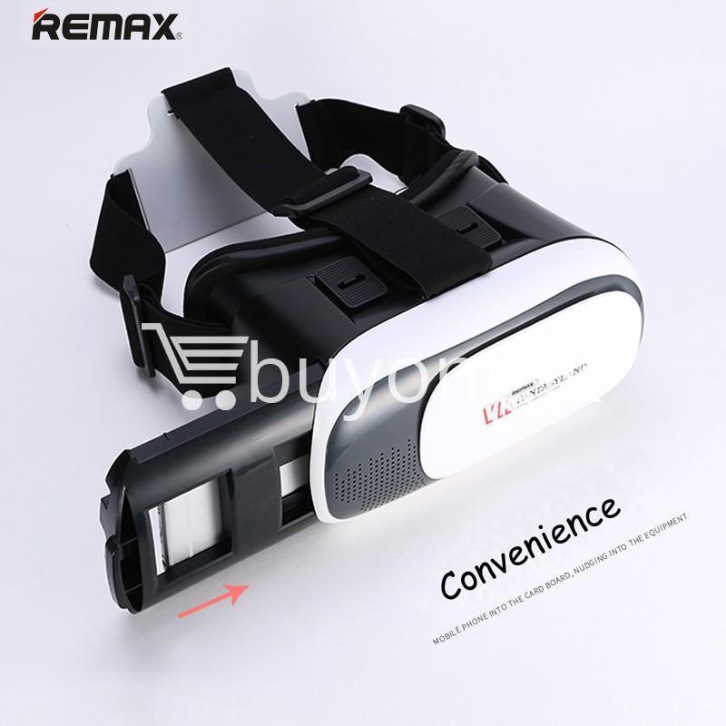 original remax vr box vr rt v01 virtual reality 3d glasses mobile phone accessories special best offer buy one lk sri lanka 11100 Original Remax VR BOX  VR RT V01 Virtual Reality 3D Glasses