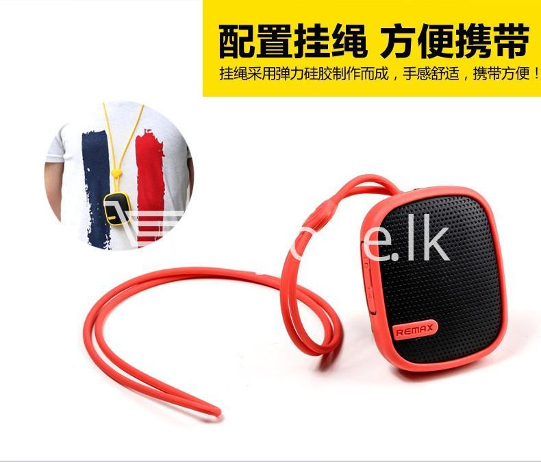 Original Remax Waterproof Music Box Wireless Bluetooth Speaker