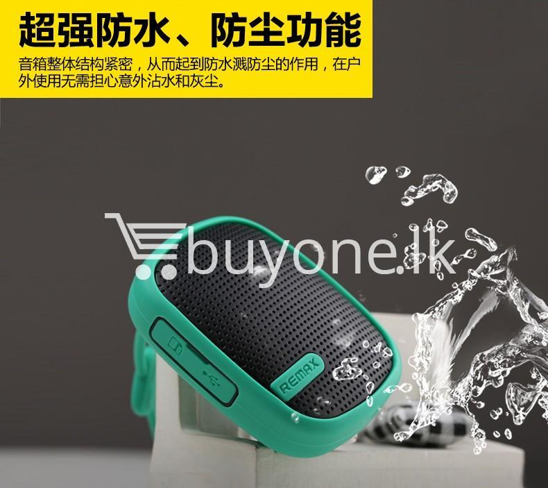 original remax waterproof music box wireless bluetooth speaker mobile phone accessories special best offer buy one lk sri lanka 42339 - Original Remax Waterproof Music Box Wireless Bluetooth Speaker