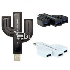 punada cactus design super speed usb 3.0 3 port compact hub adapter computer accessories special best offer buy one lk sri lanka 63170 247x247 - Punada Cactus Design Super Speed USB 3.0 3 Port Compact Hub Adapter