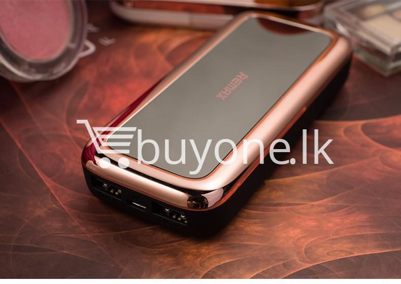 remax mirror 10000mah fashion power bank portable charger mobile store special best offer buy one lk sri lanka 81685 - Remax Mirror 10000Mah Fashion Power Bank Portable Charger