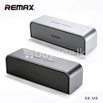 remax rb-m8 portable aluminum wireless bluetooth 4.0 speakers with clear bass computer-accessories special best offer buy one lk sri lanka 57636.jpg