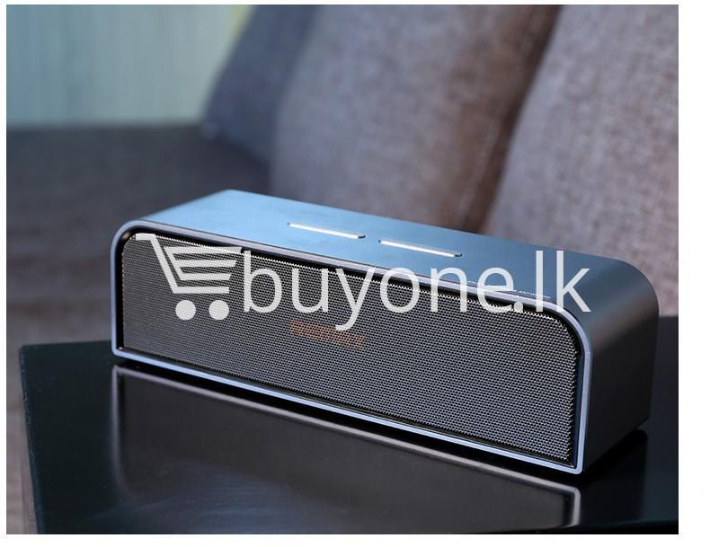 remax rb m8 portable aluminum wireless bluetooth 4.0 speakers with clear bass computer accessories special best offer buy one lk sri lanka 57652 - REMAX RB-M8 Portable Aluminum Wireless Bluetooth 4.0 Speakers with Clear Bass