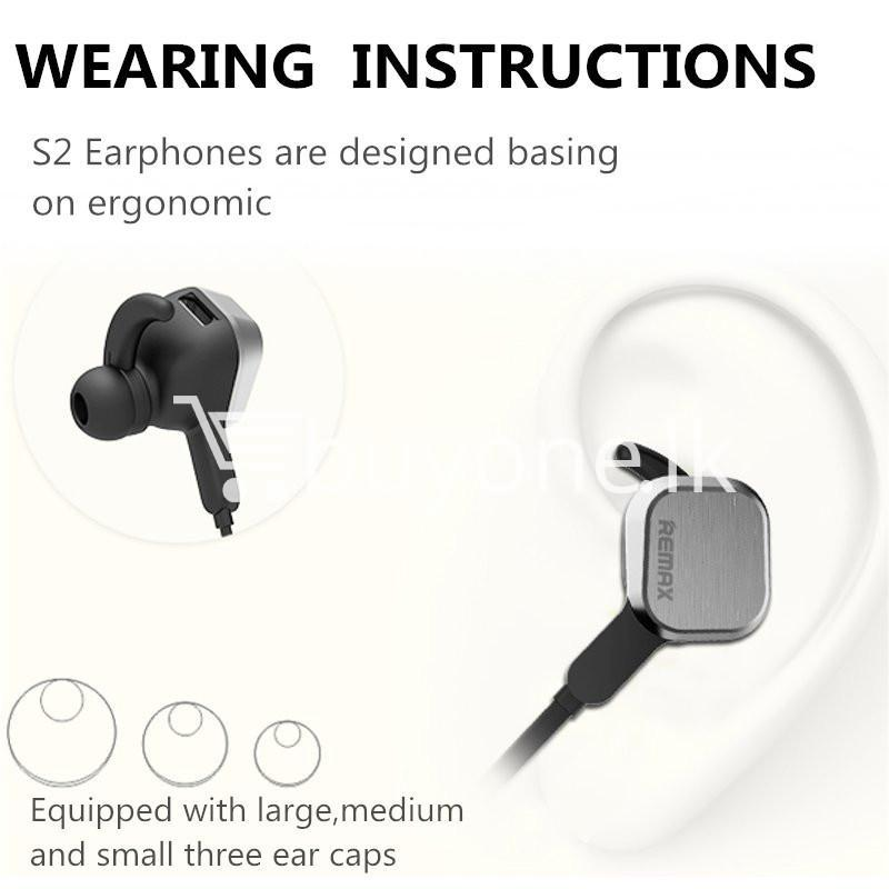 remax rm s2 new mini sports magnet wireless bluetooth headset stereo mobile phone accessories special best offer buy one lk sri lanka 48867 REMAX RM S2 New Mini Sports Magnet Wireless Bluetooth Headset Stereo