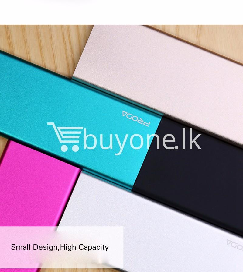 remax ultra slim power bank 8000 mah portable charger for iphone samsung htc lg mobile phone accessories special best offer buy one lk sri lanka 73710 - REMAX Ultra Slim Power Bank 8000 mAh Portable Charger For iPhone Samsung HTC LG