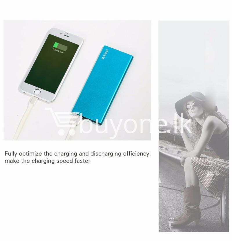 remax ultra slim power bank 8000 mah portable charger for iphone samsung htc lg mobile phone accessories special best offer buy one lk sri lanka 73713 - REMAX Ultra Slim Power Bank 8000 mAh Portable Charger For iPhone Samsung HTC LG