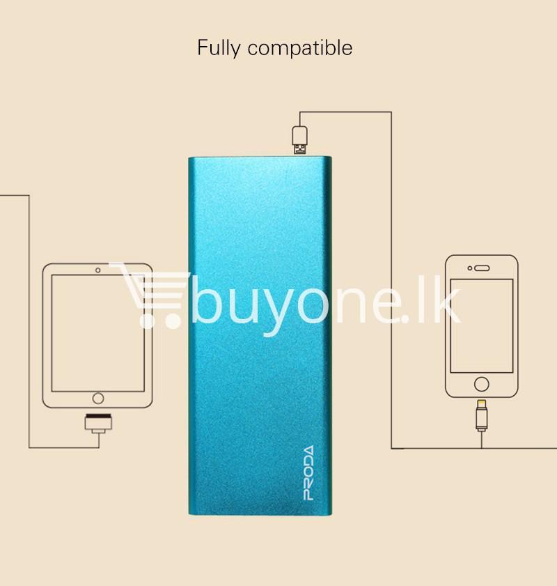 remax ultra slim power bank 8000 mah portable charger for iphone samsung htc lg mobile phone accessories special best offer buy one lk sri lanka 73714 - REMAX Ultra Slim Power Bank 8000 mAh Portable Charger For iPhone Samsung HTC LG