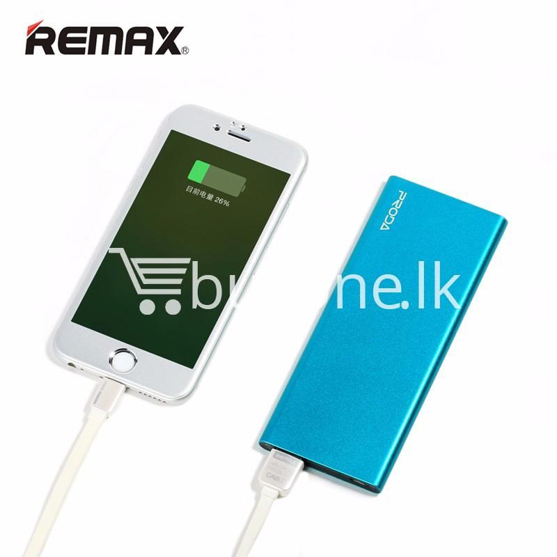 remax ultra slim power bank 8000 mah portable charger for iphone samsung htc lg mobile phone accessories special best offer buy one lk sri lanka 73721 REMAX Ultra Slim Power Bank 8000 mAh Portable Charger For iPhone Samsung HTC LG
