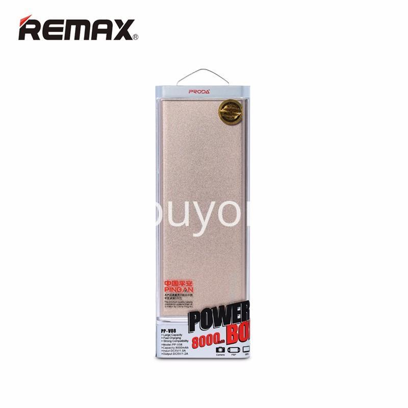 remax ultra slim power bank 8000 mah portable charger for iphone samsung htc lg mobile phone accessories special best offer buy one lk sri lanka 73723 REMAX Ultra Slim Power Bank 8000 mAh Portable Charger For iPhone Samsung HTC LG