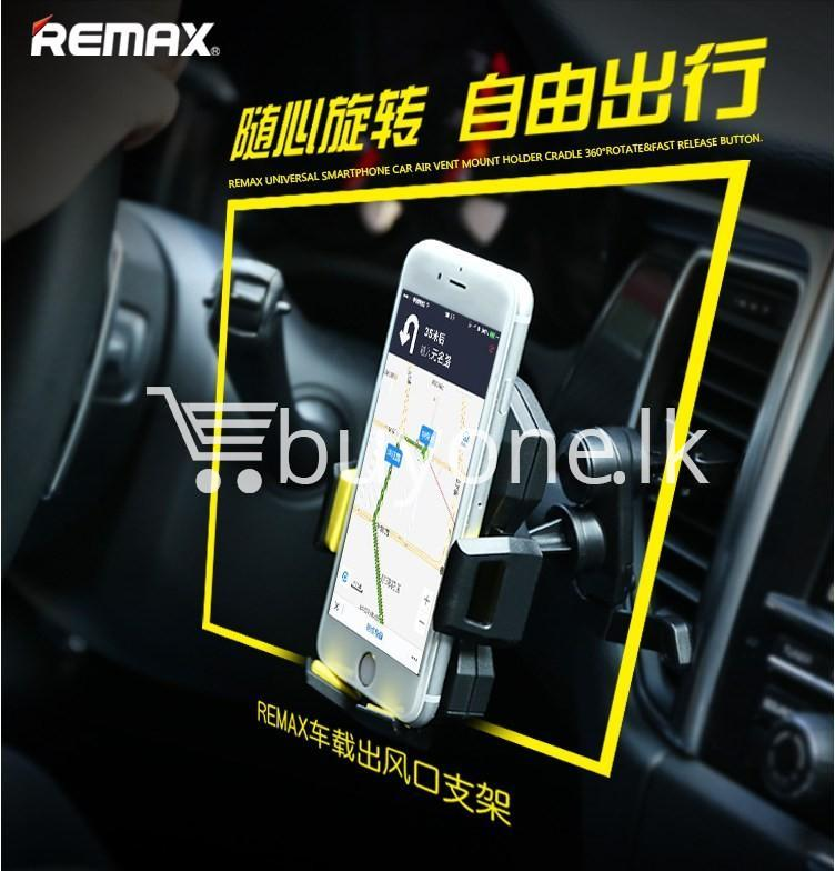 remax universal car airvent mount 360 degree rotating holder automobile store special best offer buy one lk sri lanka 89507 - REMAX Universal Car Airvent Mount 360 degree Rotating Holder