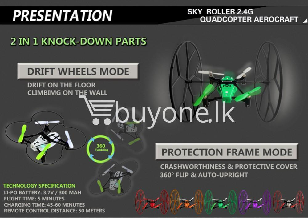 sky roller 2.4g quadcopter aerocraft remote control drone baby care toys special best offer buy one lk sri lanka 53922 - Sky Roller 2.4G Quadcopter Aerocraft Remote Control Drone