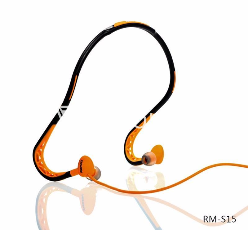 stylish remax in ear sports sweat proof neckband earphones mobile phone accessories special best offer buy one lk sri lanka 86296 Stylish REMAX In Ear Sports Sweat proof Neckband Earphones