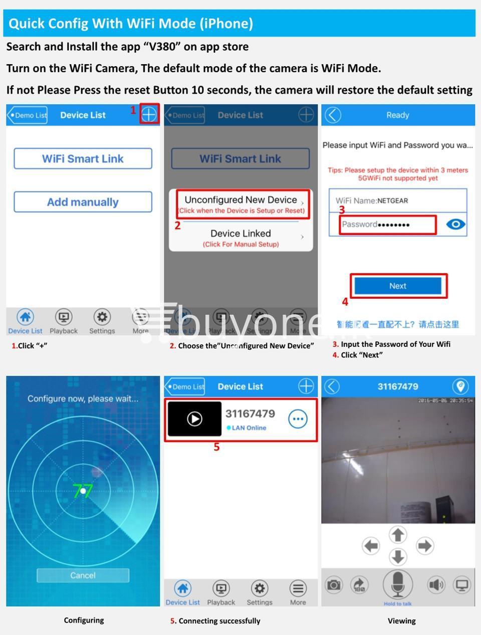 wifi smart net camera ip camera wireless with warranty camera store special best offer buy one lk sri lanka 12049 - Wifi Smart Net Camera IP Camera Wireless with Warranty