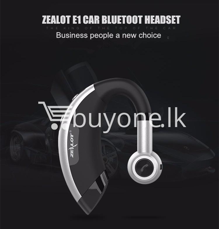 zealot e1 wireless bluetooth 4.0 earphones headphones with built in mic mobile phone accessories special best offer buy one lk sri lanka 47407 Zealot E1 Wireless Bluetooth 4.0 Earphones Headphones with Built in Mic