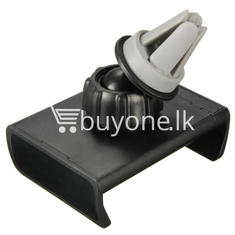 360 degrees universal car air vent phone holder mobile phone accessories special best offer buy one lk sri lanka 20278 - 360 Degrees Universal Car Air Vent Phone Holder