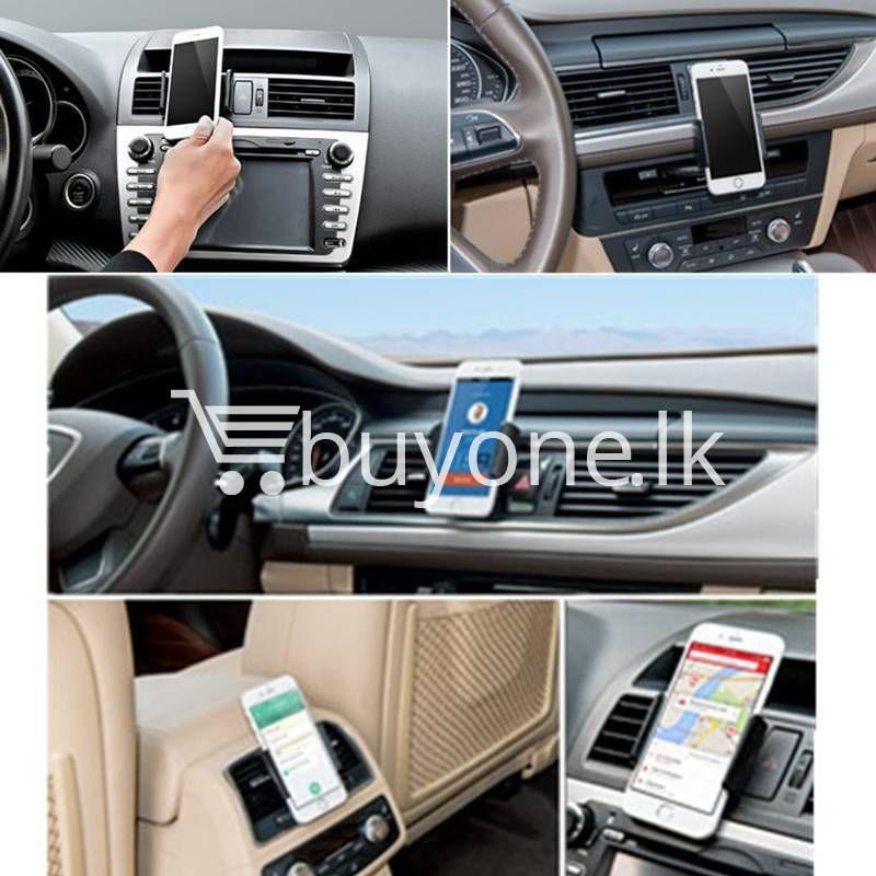360 degrees universal car air vent phone holder mobile phone accessories special best offer buy one lk sri lanka 20283 - 360 Degrees Universal Car Air Vent Phone Holder