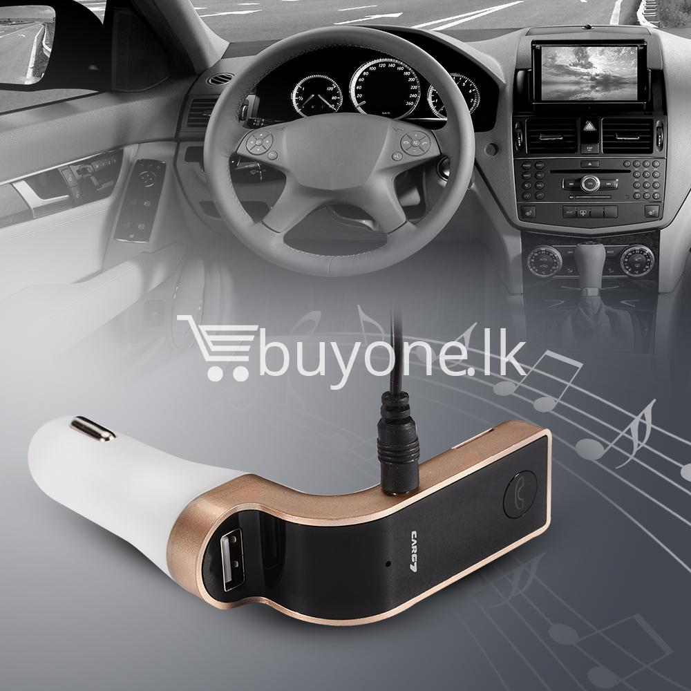 4 in 1 car g7 bluetooth fm transmitter with bluetooth car kit usb car charger automobile store special best offer buy one lk sri lanka 79922 - 4 in 1 CAR G7 Bluetooth FM Transmitter with Bluetooth Car kit USB Car Charger