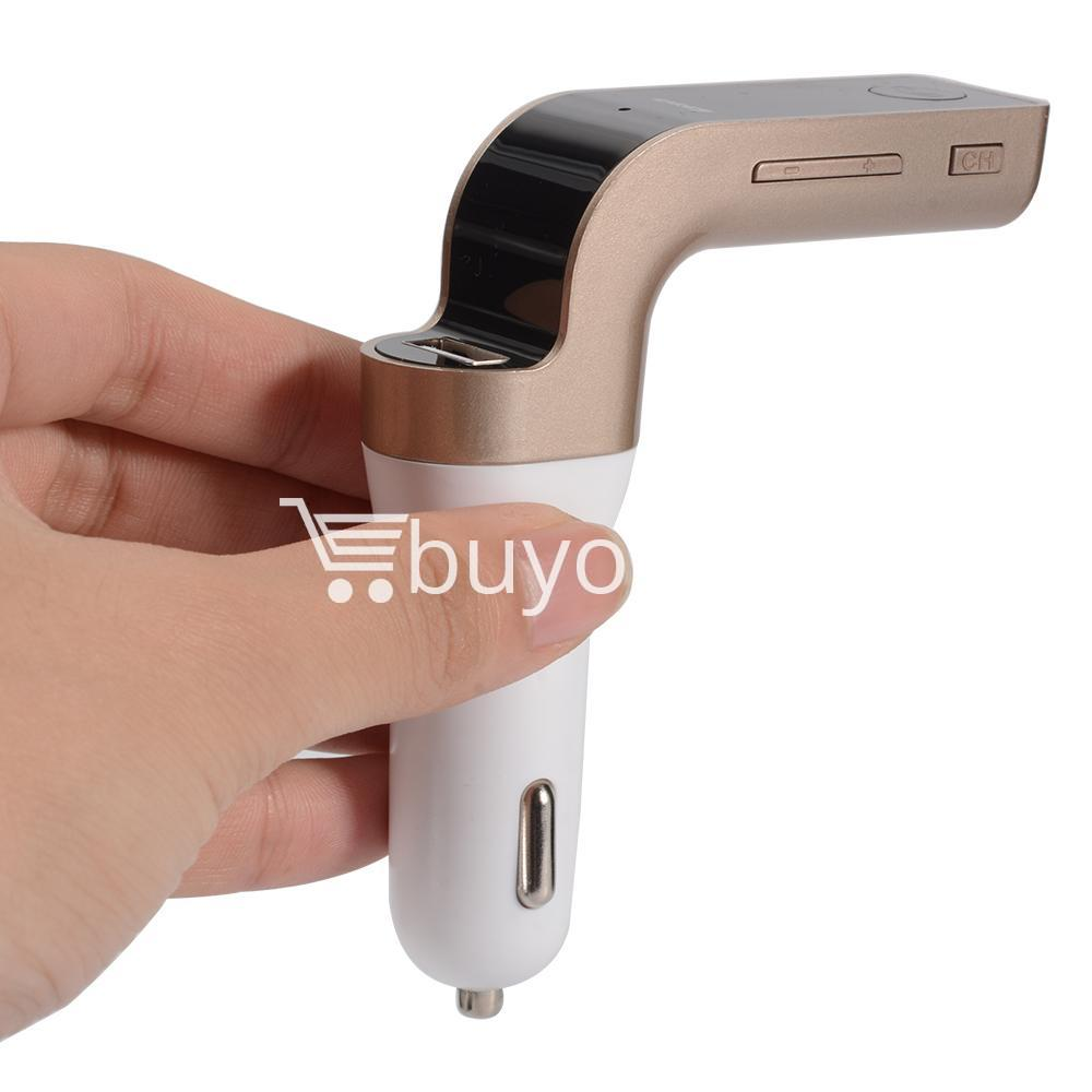 4 in 1 car g7 bluetooth fm transmitter with bluetooth car kit usb car charger automobile store special best offer buy one lk sri lanka 79930 - 4 in 1 CAR G7 Bluetooth FM Transmitter with Bluetooth Car kit USB Car Charger