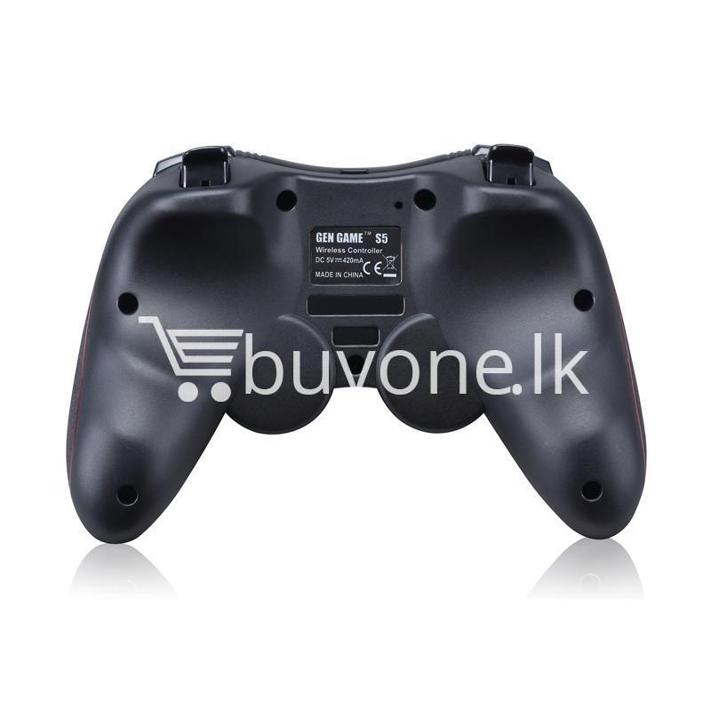 gen game s5 wireless bluetooth controller gamepad for ios android os phone tablet pc smart tv with holder special best offer buy one lk sri lanka 00574 1 - GEN GAME S5 Wireless Bluetooth Controller Gamepad For IOS Android OS Phone Tablet PC Smart TV With Holder