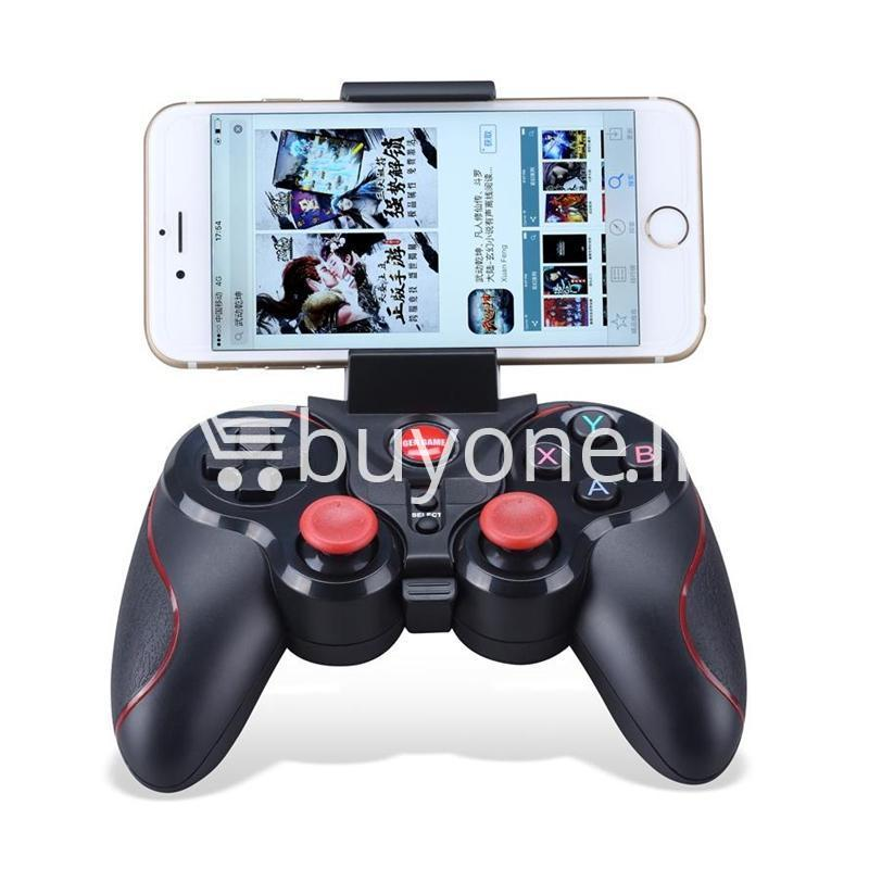gen game s5 wireless bluetooth controller gamepad for ios android os phone tablet pc smart tv with holder special best offer buy one lk sri lanka 00578 - GEN GAME S5 Wireless Bluetooth Controller Gamepad For IOS Android OS Phone Tablet PC Smart TV With Holder