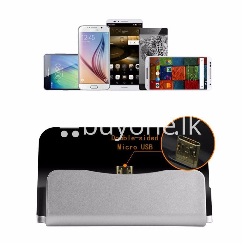 micro usb data sync desktop charging dock station for samsung htc galaxy oneplus nokia more mobile phone accessories special best offer buy one lk sri lanka 36667 - Micro USB Data Sync Desktop Charging Dock Station For Samsung HTC Galaxy OnePlus Nokia More