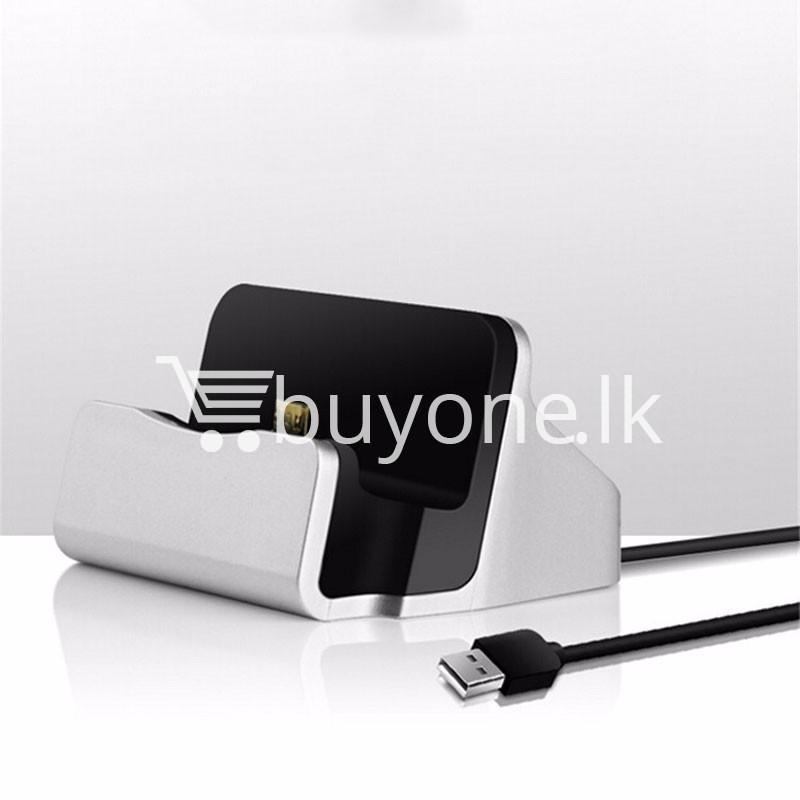 micro usb data sync desktop charging dock station for samsung htc galaxy oneplus nokia more mobile phone accessories special best offer buy one lk sri lanka 36671 - Micro USB Data Sync Desktop Charging Dock Station For Samsung HTC Galaxy OnePlus Nokia More