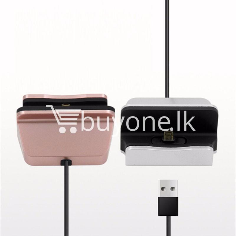micro usb data sync desktop charging dock station for samsung htc galaxy oneplus nokia more mobile phone accessories special best offer buy one lk sri lanka 36674 - Micro USB Data Sync Desktop Charging Dock Station For Samsung HTC Galaxy OnePlus Nokia More