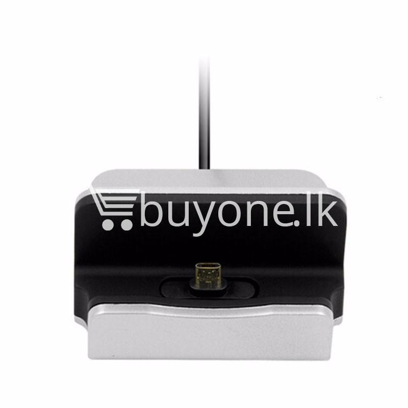 micro usb data sync desktop charging dock station for samsung htc galaxy oneplus nokia more mobile phone accessories special best offer buy one lk sri lanka 36677 - Micro USB Data Sync Desktop Charging Dock Station For Samsung HTC Galaxy OnePlus Nokia More