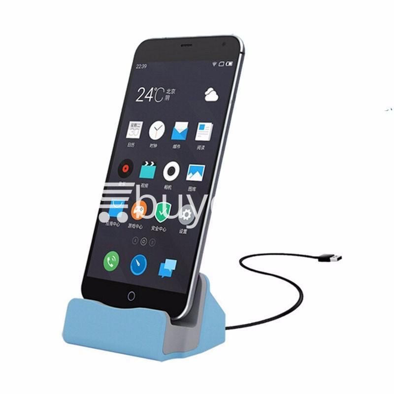 micro usb data sync desktop charging dock station for samsung htc galaxy oneplus nokia more mobile phone accessories special best offer buy one lk sri lanka 36678 - Micro USB Data Sync Desktop Charging Dock Station For Samsung HTC Galaxy OnePlus Nokia More