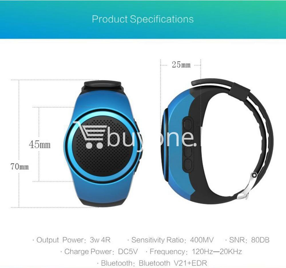 newest ubit b20 bluetooth speaker movement music watch mobile phone accessories special best offer buy one lk sri lanka 02499 - Newest Ubit B20 Bluetooth Speaker Movement Music Watch