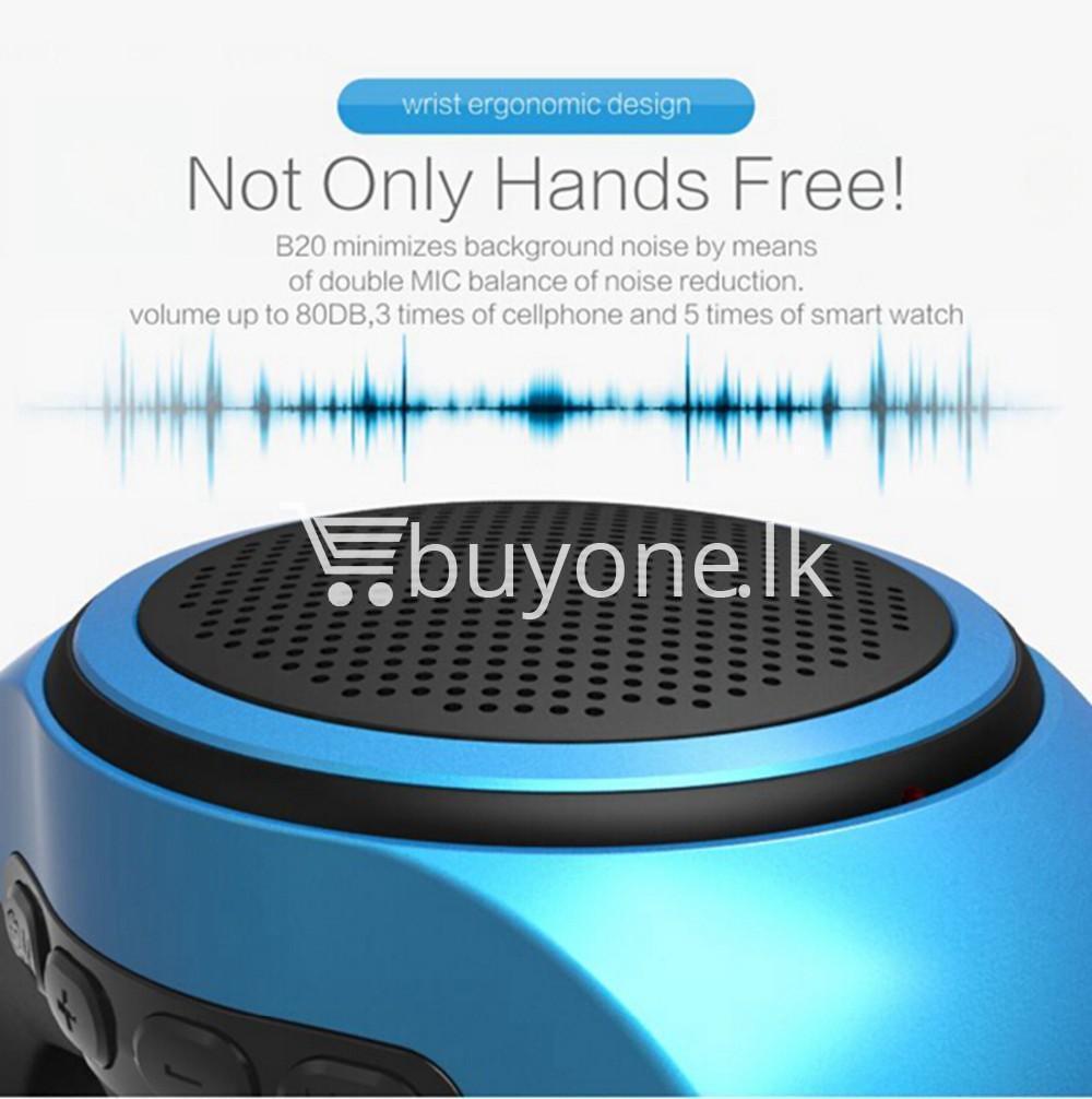 newest ubit b20 bluetooth speaker movement music watch mobile phone accessories special best offer buy one lk sri lanka 02503 - Newest Ubit B20 Bluetooth Speaker Movement Music Watch
