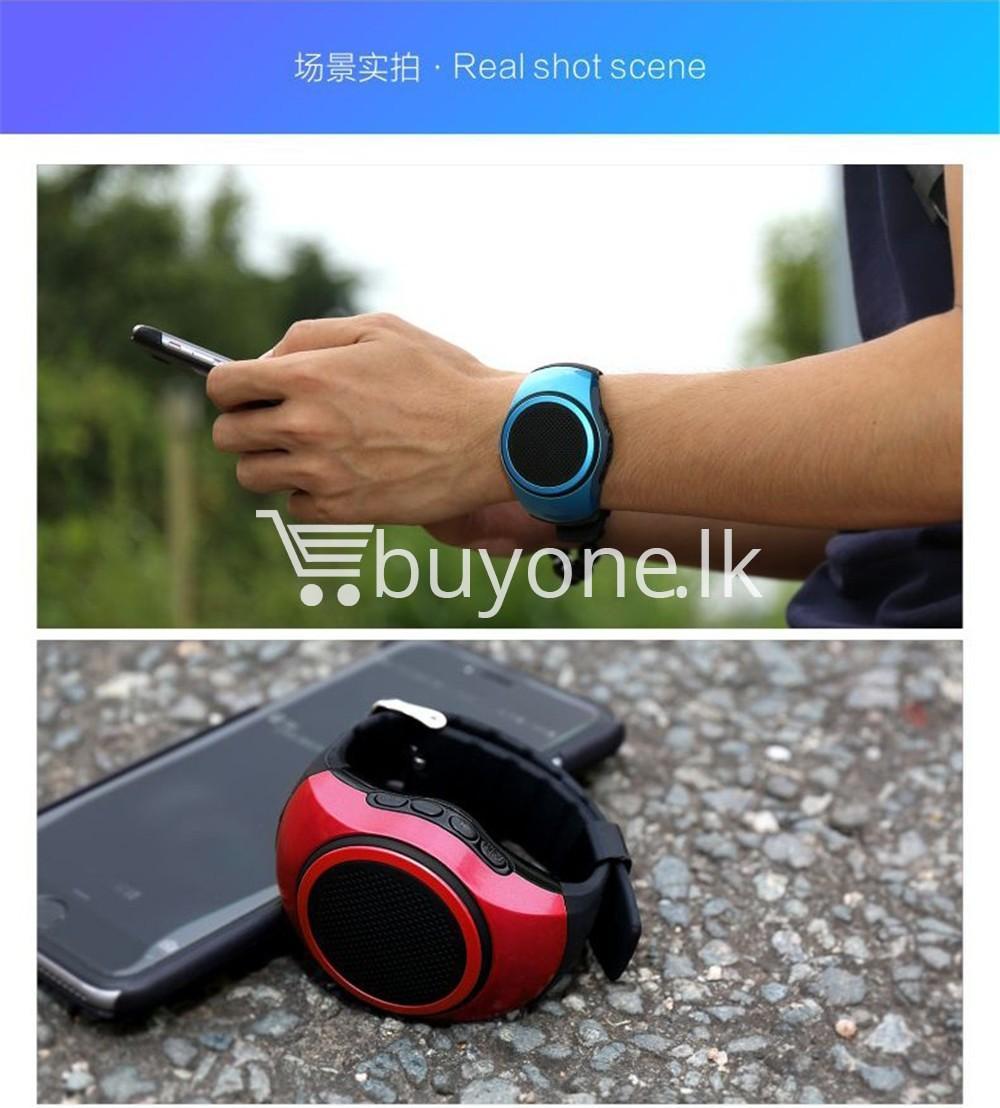 newest ubit b20 bluetooth speaker movement music watch mobile phone accessories special best offer buy one lk sri lanka 02515 - Newest Ubit B20 Bluetooth Speaker Movement Music Watch