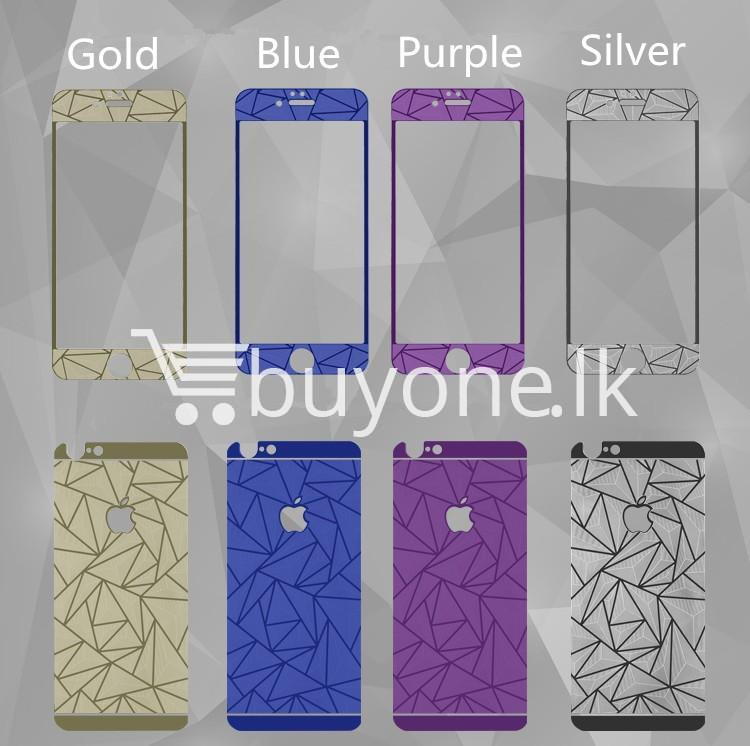 original latest new full 3d protect front and back tempered glass for iphone6 iphone6s iphone6s plus mobile phone accessories special best offer buy one lk sri lanka 95745 - Original Latest New Full 3D Protect Front and Back Tempered Glass  For iphone6 iphone6s iphone6s plus