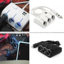 universal car sockets 3 ways with dual usb charger for iphone samsung htc nokia automobile store special best offer buy one lk sri lanka 19844  Online Shopping Store in Sri lanka, Latest Mobile Accessories, Latest Electronic Items, Latest Home Kitchen Items in Sri lanka, Stereo Headset with Remote Controller, iPod Usb Charger, Micro USB to USB Cable, Original Phone Charger | Buyone.lk Homepage