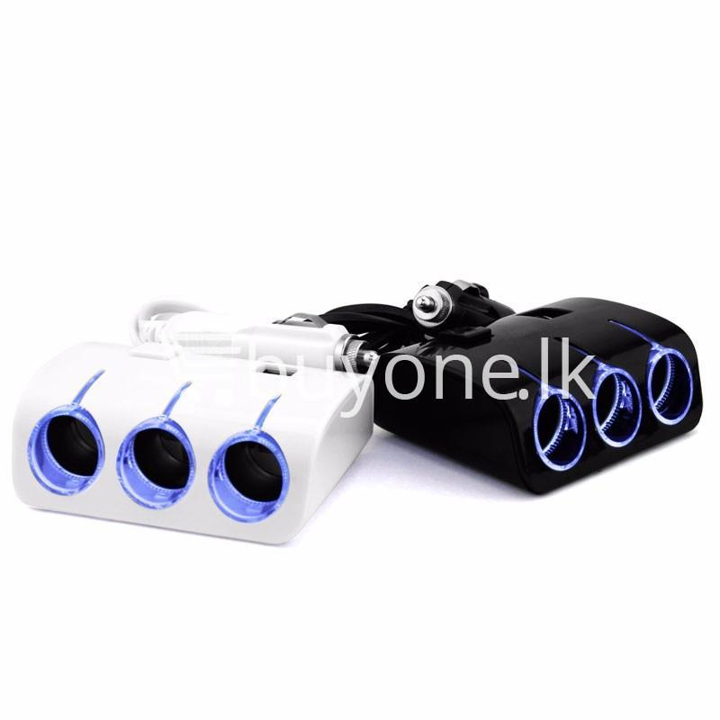 universal car sockets 3 ways with dual usb charger for iphone samsung htc nokia automobile store special best offer buy one lk sri lanka 19861 - Universal Car Sockets 3 Ways with Dual USB Charger For iPhone Samsung HTC Nokia