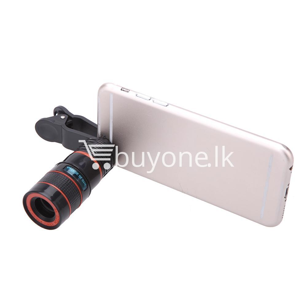 universal special design 8x zoom phone lens telephoto camera lens for iphone samsung htc xiaomi mobile phone accessories special best offer buy one lk sri lanka 22880 - Universal Special Design 8X Zoom Phone Lens Telephoto Camera Lens For iPhone Samsung HTC Xiaomi