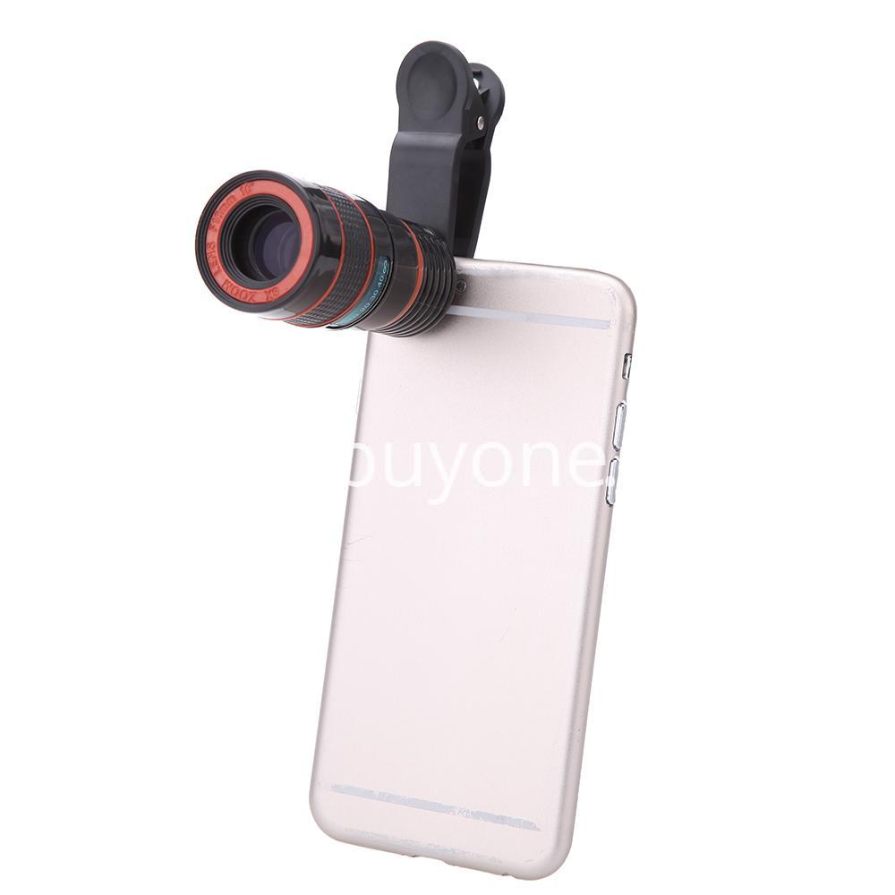 universal special design 8x zoom phone lens telephoto camera lens for iphone samsung htc xiaomi mobile phone accessories special best offer buy one lk sri lanka 22881 - Universal Special Design 8X Zoom Phone Lens Telephoto Camera Lens For iPhone Samsung HTC Xiaomi