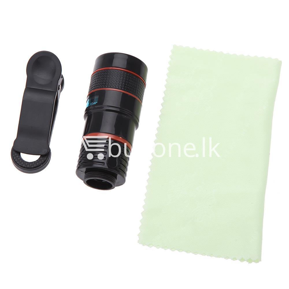 universal special design 8x zoom phone lens telephoto camera lens for iphone samsung htc xiaomi mobile phone accessories special best offer buy one lk sri lanka 22884 - Universal Special Design 8X Zoom Phone Lens Telephoto Camera Lens For iPhone Samsung HTC Xiaomi
