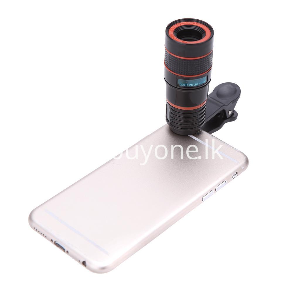 universal special design 8x zoom phone lens telephoto camera lens for iphone samsung htc xiaomi mobile phone accessories special best offer buy one lk sri lanka 22885 - Universal Special Design 8X Zoom Phone Lens Telephoto Camera Lens For iPhone Samsung HTC Xiaomi