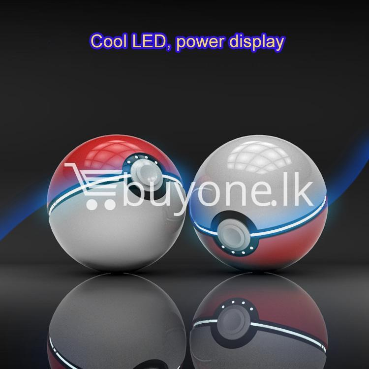 12000mah universal pokeball charger pokemons go power bank mobile phone accessories special best offer buy one lk sri lanka 98400 - 12000Mah Universal Pokeball Charger Pokemons Go Power bank