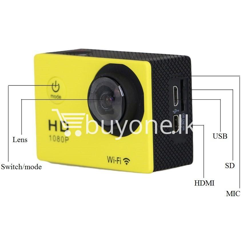 original action camera sj4000 1080p hd 12mp extre sports camera gopro hero 3 go pro 4 cam style with wifi camera store special best offer buy one lk sri lanka 52821 - Original Action Camera SJ4000 1080P HD 12MP extre Sports Camera Gopro hero 3 Go pro 4 Cam Style with Wifi