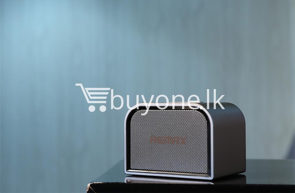 remax m8 mini desktop bluetooth 4.0 speaker deep bass aluminum mobile phone accessories special best offer buy one lk sri lanka 60127 - Remax M8 Mini Desktop Bluetooth 4.0 Speaker Deep Bass Aluminum