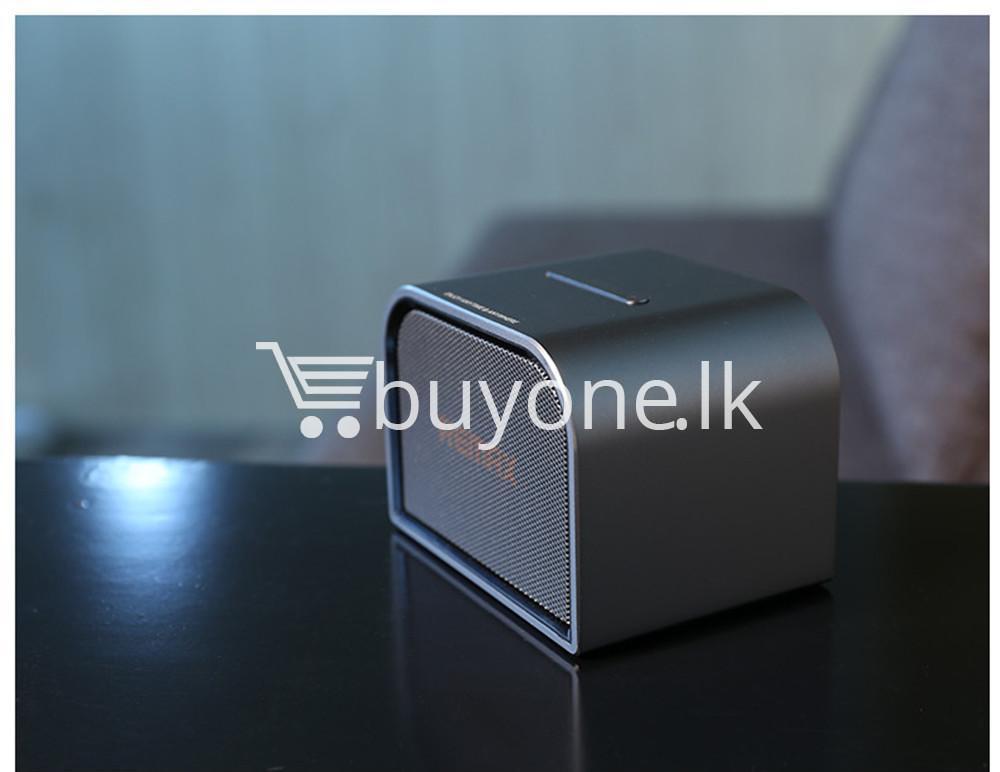remax m8 mini desktop bluetooth 4.0 speaker deep bass aluminum mobile phone accessories special best offer buy one lk sri lanka 60128 - Remax M8 Mini Desktop Bluetooth 4.0 Speaker Deep Bass Aluminum