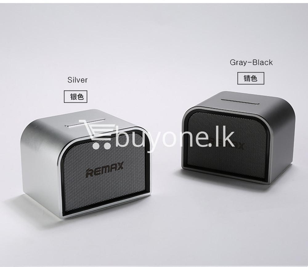 remax m8 mini desktop bluetooth 4.0 speaker deep bass aluminum mobile phone accessories special best offer buy one lk sri lanka 60129 - Remax M8 Mini Desktop Bluetooth 4.0 Speaker Deep Bass Aluminum
