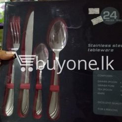 24 pieces tableware set stainless steel tableware home and kitchen special best offer buy one lk sri lanka 99648 247x247 - 24 Pieces Tableware Set - Stainless Steel Tableware