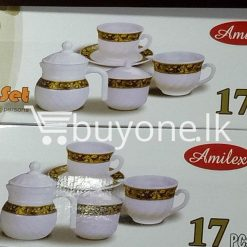 amilex 17pcs tea set service for 6 persons home and kitchen special best offer buy one lk sri lanka 99498 247x247 - Amilex 17pcs Tea Set Service For 6 Persons