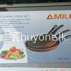amilex 4pcs non stick set for healthy and light food home and kitchen special best offer buy one lk sri lanka 99501 247x247 - Amilex 4Pcs Non Stick Set For Healthy and Light Food